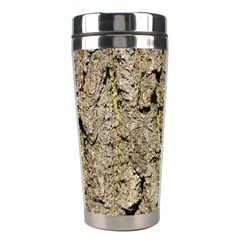 Grey Tree Bark Stainless Steel Travel Tumblers by trendistuff
