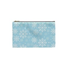 Frosty Cosmetic Bag (small)  by Kathrinlegg