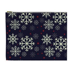Snowflake Cosmetic Bag (xl) by Kathrinlegg