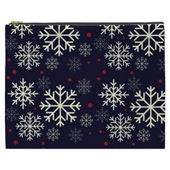Snowflake Cosmetic Bag (xxxl)  by Kathrinlegg
