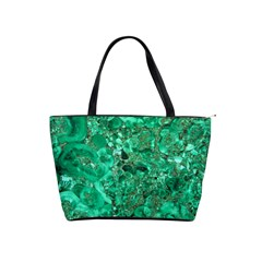 Marble Green Shoulder Handbags by trendistuff