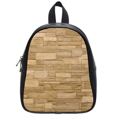 Block Wall 2 School Bags (small)  by trendistuff