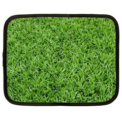 Green Grass 2 Netbook Case (large) by trendistuff