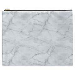 White Marble 2 Cosmetic Bag (xxxl)  by ArgosPhotography