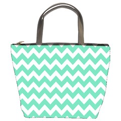 Chevron Pattern Gifts Bucket Bags