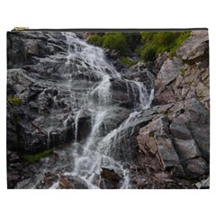 Mountain Waterfall Cosmetic Bag (xxxl)  by trendistuff