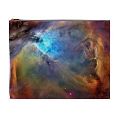 Orion Nebula Cosmetic Bag (xl) by trendistuff