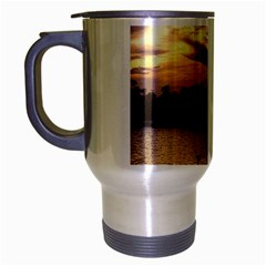 Intercoastal Seagulls 4 Travel Mug (silver Gray) by Jamboo