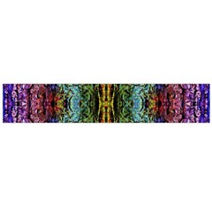 Abstract, Yellow Green, Purple, Tree Trunk Flano Scarf (large)  by Costasonlineshop