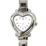 Happy Hour Heart Italian Charm Watch