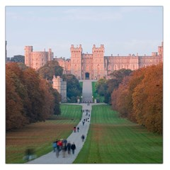 Windsor Castle Large Satin Scarf (square) by trendistuff