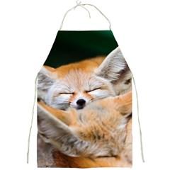Baby Fox Sleeping Full Print Aprons by trendistuff