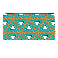 Triangles And Other Shapes Pattern 	pencil Case by LalyLauraFLM
