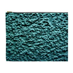 Blue Green  Wall Background Cosmetic Bag (xl) by Costasonlineshop