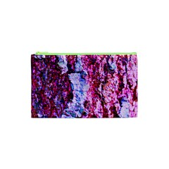 Purple Tree Bark Cosmetic Bag (xs) by timelessartoncanvas