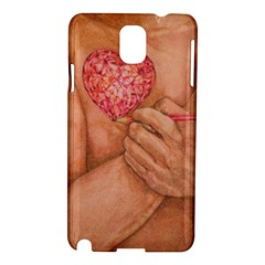 Embrace Love  Samsung Galaxy Note 3 N9005 Hardshell Case by KentChua