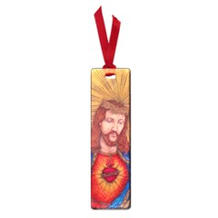 Sacred Heart Of Jesus Christ Drawing Small Book Marks by KentChua