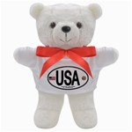 USA Euro Oval Teddy Bear