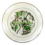 radiocative Porcelain Plate