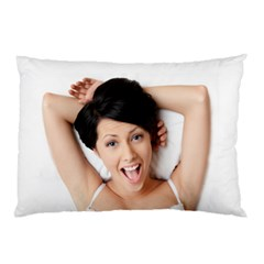 Lady In Bed Pillow Case