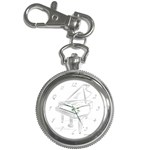 Key Chain Watch Clip On Front