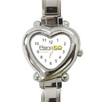 Logo Med Heart Italian Charm Watch