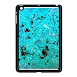 Blue Sensations (aquamarine) Apple iPad Mini Case (Black)