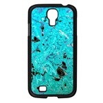 Blue Sensations (aquamarine) Samsung Galaxy S4 I9500/ I9505 Case (Black)