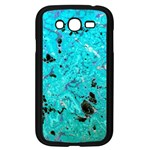 Blue Sensations (aquamarine) Samsung Galaxy Grand DUOS I9082 Case (Black)