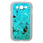 Blue Sensations (aquamarine) Samsung Galaxy Grand DUOS I9082 Case (White)