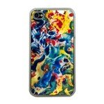 Colors by Jandi Apple iPhone 4 Case (Clear)