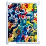 Colors by Jandi Apple iPad 2 Case (White) Front