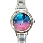 Aura by Jandi Round Italian Charm Watch