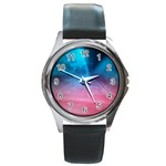 Aura by Jandi Round Metal Watch