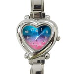 Aura by Jandi Heart Italian Charm Watch