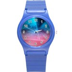 Aura by Jandi Round Plastic Sport Watch (S)
