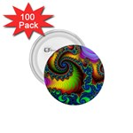 Lucy in the Sky With Diamonds Fractal 1.75  Button (100 pack)