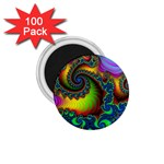 Lucy in the Sky With Diamonds Fractal 1.75  Magnet (100 pack)
