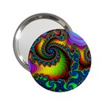 Lucy in the Sky With Diamonds Fractal 2.25  Handbag Mirror
