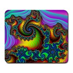 Lucy in the Sky With Diamonds Fractal Large Mousepad