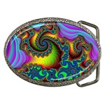 Lucy in the Sky With Diamonds Fractal Belt Buckle