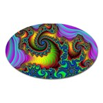 Lucy in the Sky With Diamonds Fractal Magnet (Oval)