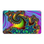 Lucy in the Sky With Diamonds Fractal Magnet (Rectangular)