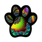 Lucy in the Sky With Diamonds Fractal Magnet (Paw Print)