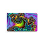 Lucy in the Sky With Diamonds Fractal Magnet (Name Card)
