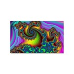 Lucy in the Sky With Diamonds Fractal Sticker Rectangular (100 pack)