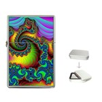 Lucy in the Sky With Diamonds Fractal Flip Top Lighter