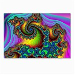 Lucy in the Sky With Diamonds Fractal Postcard 4 x 6  (Pkg of 10)