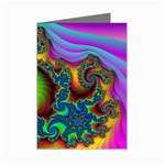 Lucy in the Sky With Diamonds Fractal Mini Greeting Cards (Pkg of 8)