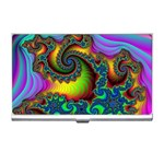 Lucy in the Sky With Diamonds Fractal Business Card Holder